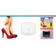 Ultra Protetor para Tendão Soft Gel 2 em 1 Lady Feet - Preto - Ortho Pauher - Cód: OP 1027-PR