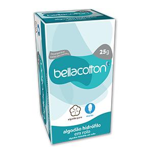 Algodão Hidrófilo 25g Bellacotton - Cód: BELL254.00_estq