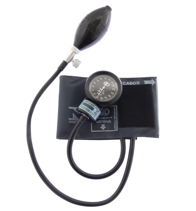 Aparelho de Pressão Infantil Nylon Fecho de Contato - Cinza - BIC - Cód: AP1712