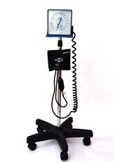 Aparelho Medidor de Pressão Arterial Adulto de Nylon Fecho de Contato Argola Rodizio - BIC - Cód: AP6313