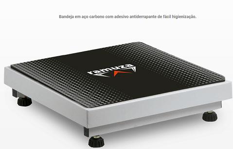 Balança Antropométrica - Modelo DP - LED Vermelho - (Capacidade 200kg/50g) - RAMUZA - Cód: DP 200kg/50g