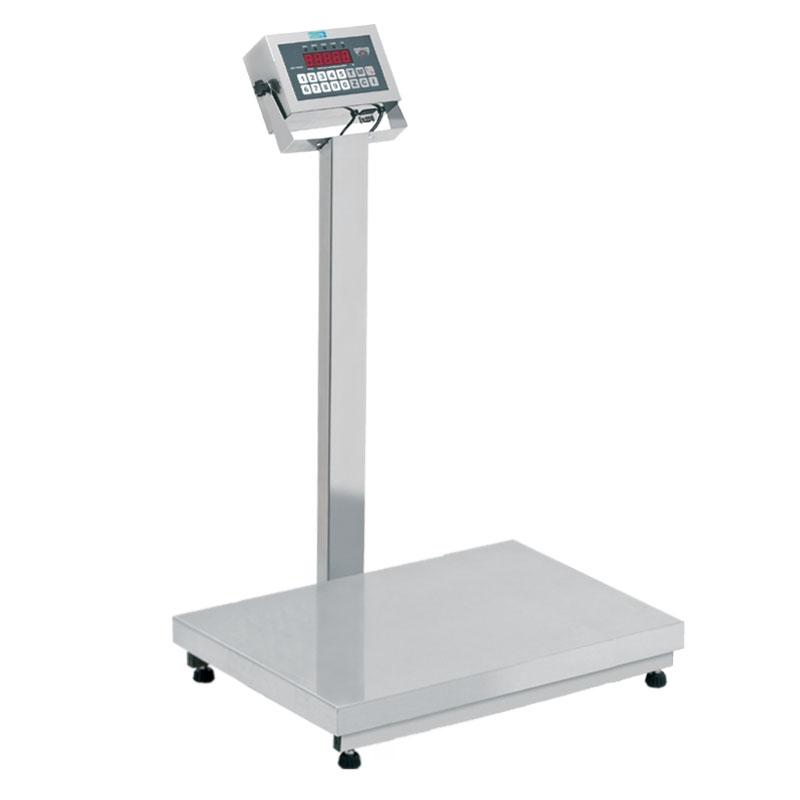 Balança PET - Total INOX 304 - Modelo DP (Capacidade 200kg/50g Plat.50X80) - RAMUZA - Cód: DP 200 PET TI