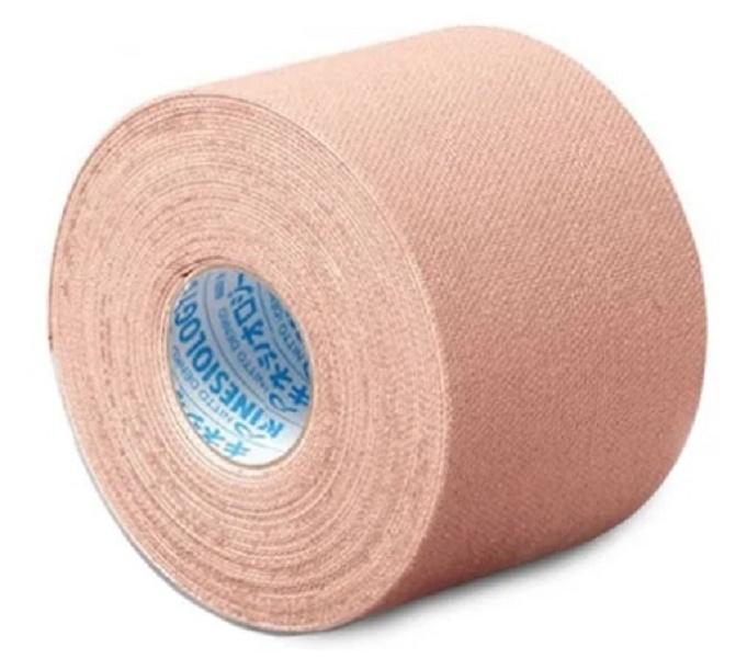Bandagem Adesiva KinesioLogy Tape 3,75cm X 5m BEGE - 1 rolo - Cód: NKH-37_BEGE_estq