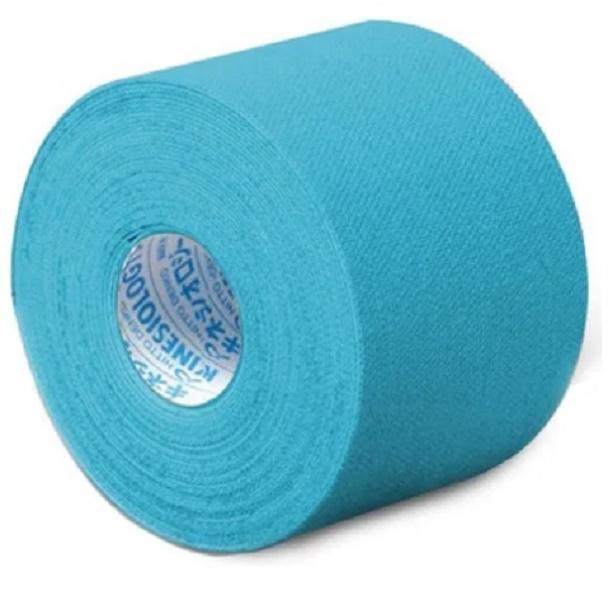 Bandagem Adesiva KinesioLogy Tape 5cm X 5m AZUL - 1 rolo - Cód: NKH-50_AZUL