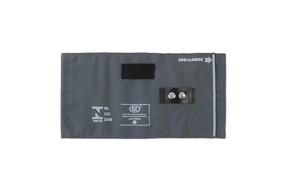 Braçadeira Adulto Nylon Metal - Várias Cores - BIC - Cód: BR02
