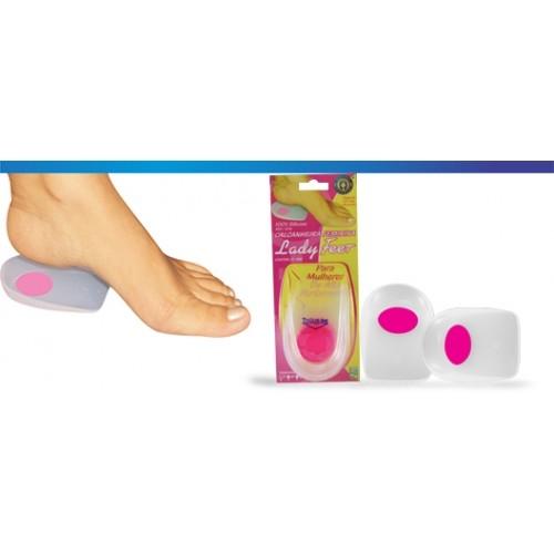 Calcanheira Feminina Lady Feet - Ortho Pauher - Cód: OP 1016