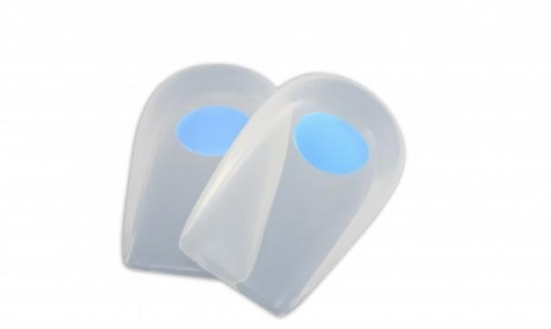 Calcanheira Siligel em Tamanho Especial 45 a 52 c/ Ponto Azul - Ortho Pauher - Cód: OP 1009