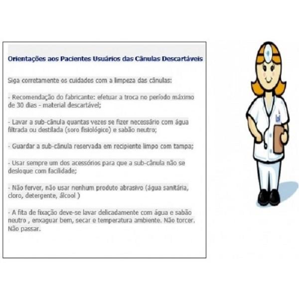 Cânula para Traqueostomia Ajustável com Balão - Tipo Safetyflex - BCI MEDICAL - Cód: 9736