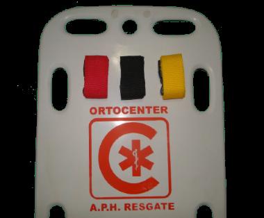 Conj de 3 Cintos de 1.70m para Fixação em Prancha de Resgate - ORTOCENTER - Cód: OC 2035-01