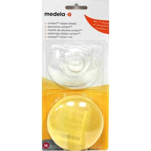 Contact Nipple Shield - Médio - Par (160 Unidades) - MEDELA - Cód: 200.1594