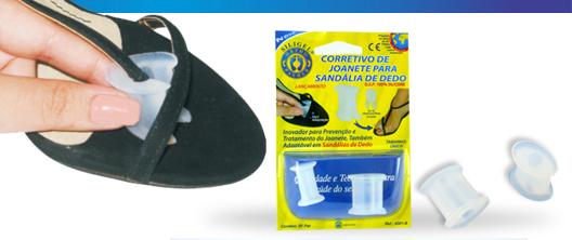 Corretivo de Joanete Para Sandália de Dedo - Ortho Pauher - Cód: OP 4001B