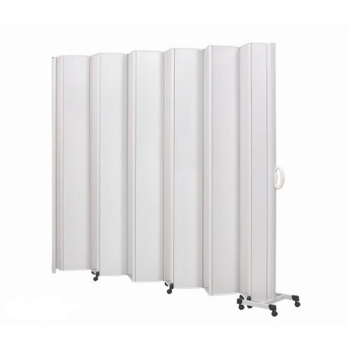Divisórias com 8 Lâminas 1,995x1,85m - FIXA (Várias Cores) - BCF - Cód: 01171-01FX