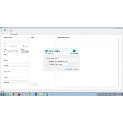 Eletrocardiógrafo ECG USB DL650 VET - DELTA LIFE - Cód: DL650