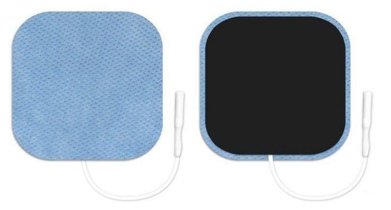 Eletrodo Valutrode  5,0 cm x 5,0 cm Quadrado (30 Pacotes) - Cód: VL4545