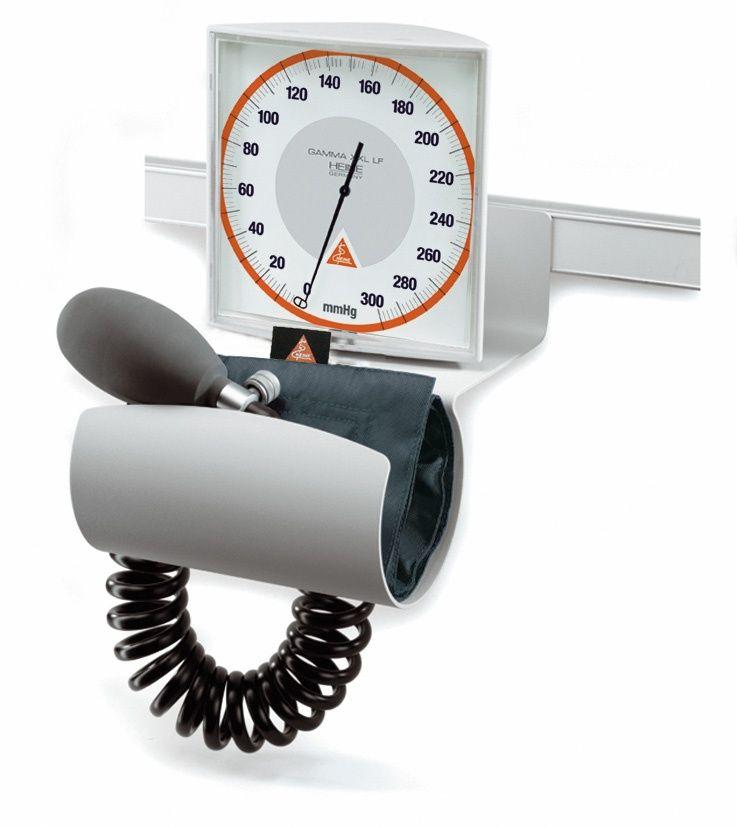 Esfigmomanômetro para Obeso com Suporte de Parede em Trilho GAMMA XXL LF-R - HEINE - Cód: M-000.09.325CX
