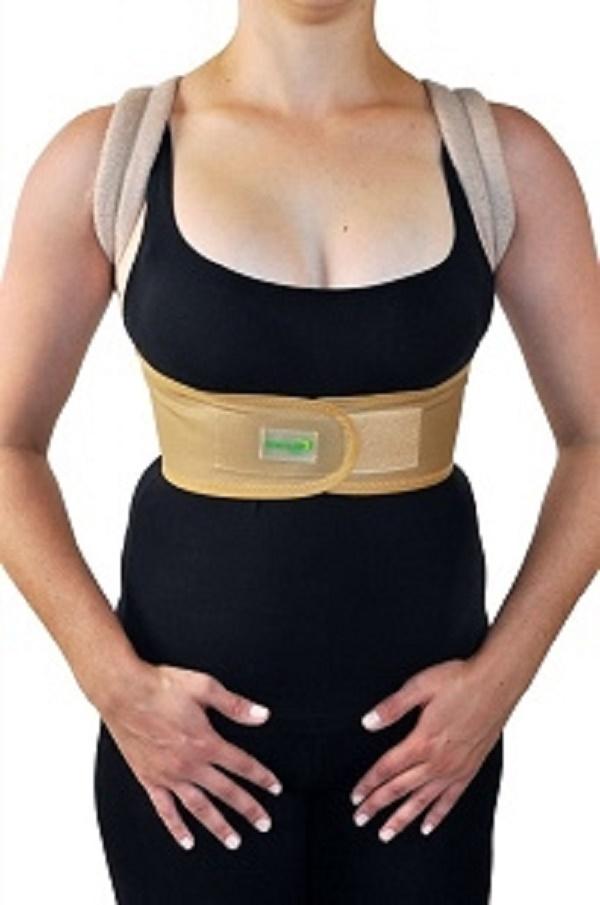 Espaldeira em Brim para Postura - Tam Infantil - DORTLER - Cód: D-130-INF