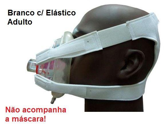Fixadores Fix Holder Cefalico Adulto - Branco C/ Elástico - Impacto Medical - Cód: IMP41180