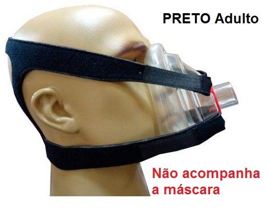 Fixadores Fix Holder Cefalico Adulto - Preto - Impacto Medical - Cód: IMP40316