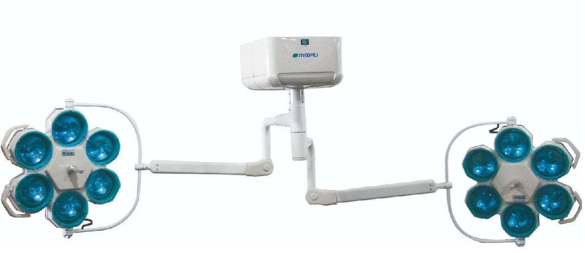 Foco Cirúrgico de Teto de Emergência - FL-2000 T6x6E - MEDPEJ - Cód: 39.410.0003
