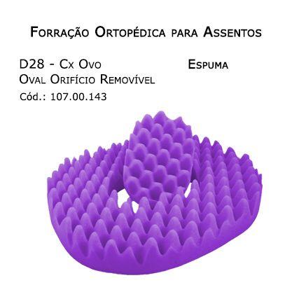 Forrações de Assento - Caixa de Ovo Espuma (Ovo - Orifício Removível) - Bioflorence - Cód: 104.0143