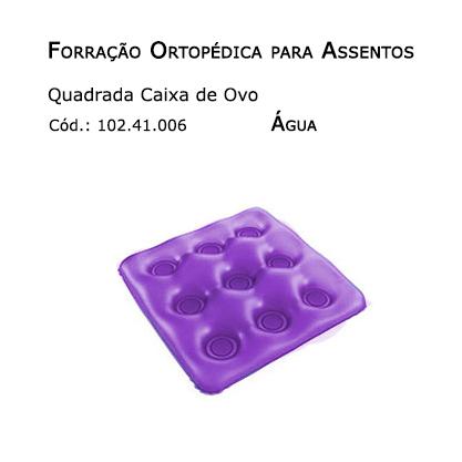 Forrações de Assento - Caixa de Ovo Quadrada (Água) - Bioflorence - Cód: 102.0006