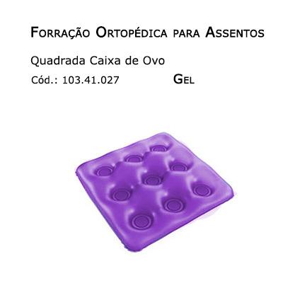 Forrações de Assento - Caixa de Ovo Quadrada (Gel) - Bioflorence - Cód: 103.0027