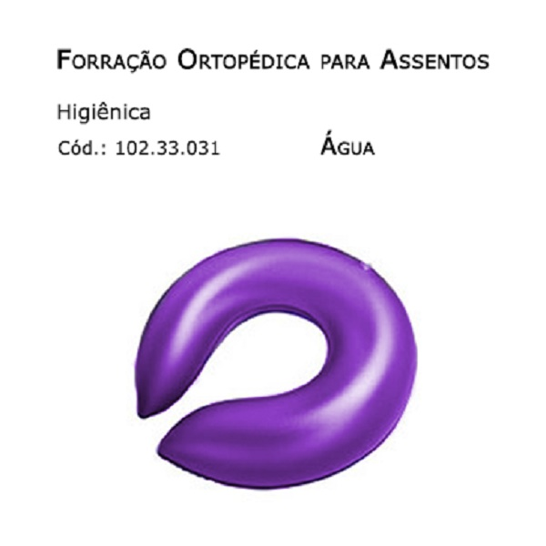 Forrações de Assento - Higiênica (Água) - Bioflorence - Cód: 102.0031