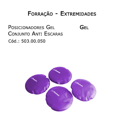 Forrações de Extremidades - Posicionadores de Gel (Conjunto 4 unidades) - Bioflorence - Cód: 503.0050