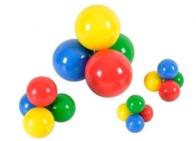 Freeball Mini Ø 40 mm (Caixa com 60 pçs) - Gymnic- Cód: 80.13