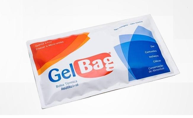 GelBag - Bolsa Térmica 450g (Caixa C/ 25 unidades) - Carbogel - Cód: 1721