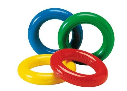 Gym Ring Ø 18 cm. (Conjunto com 4 bolas) - Gymnic - Cód: 80.93