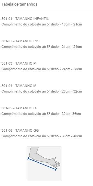 Imobilizador Estofado de MS (Tipóia Velpeau) - AZUL (LADO DIREITO) - SALVAPÉ - Cód: 301-4