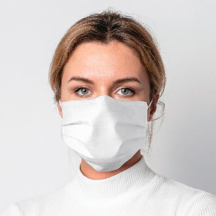 Máscara Dupla Camada de Tecido (50 Unidades) - Dortler - Cód: D-702