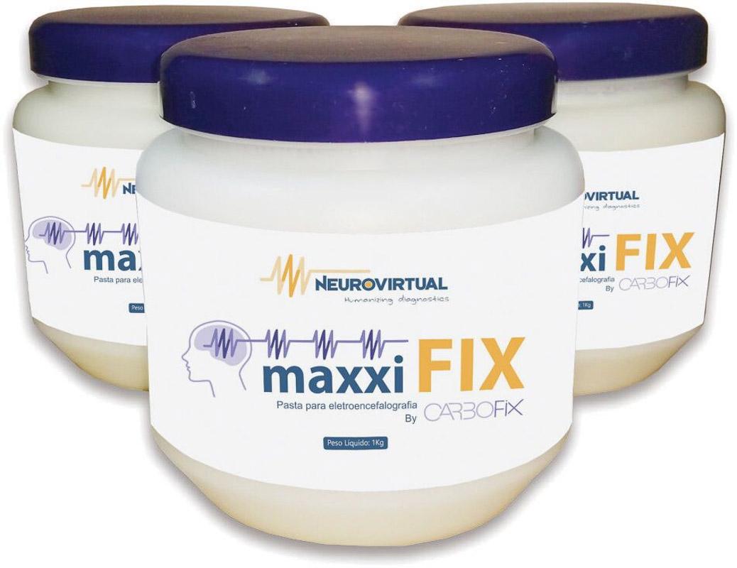 MaxxiFix by Carbofix - Pasta para EEG/PSG -  (1Kg) - NEUROVIRTUAL - Cód: PV 3012