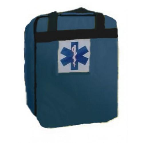Mochila Pré-Hospitalar Básica Azul Sem Equipamento (tipo SAMU 192) - Ortocenter - Cód: OC 2043-04