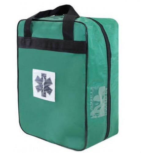 Mochila Pré-Hospitalar Básica Verde Sem Equipamento (tipo SAMU 192) - Ortocenter - Cód: OC 2043-05