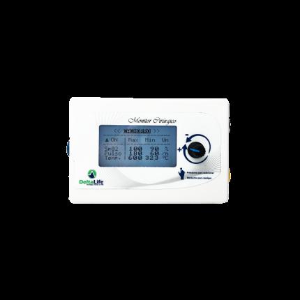 Monitor Cirúrgico DL420 VET com Freqüência Respiratória - DELTA LIFE - Cód: DL420