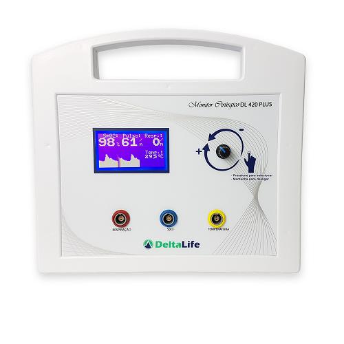 Monitor Cirúrgico Oxipet Plus Vet - DELTA LIFE - Cód: DL400