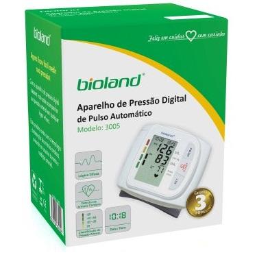 Monitor de Pressão Digital Automático de Pulso BIOLAND - Cód: 3005