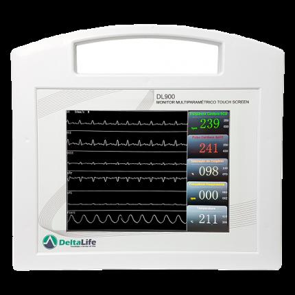 Monitor Multiparamétrico DL900 VET - DELTA LIFE - Cód: DL900