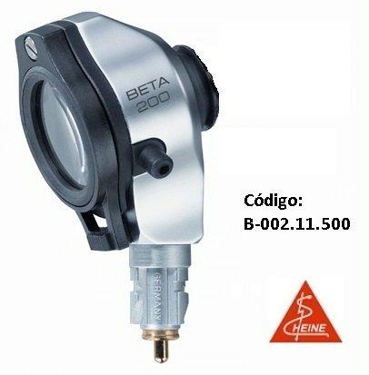 Otoscópio F.O. BETA200 sem espéculos e sem cabo, 2,5V - HEINE - Cód: B-001.11.500