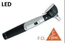 Otoscópio  Mini3000 F.O LED + Cabo Mini e Espéculo  2,5 e 4mm (Preto) - HEINE - Cód: D-008.70.110P