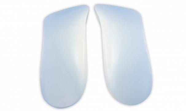 Palmilha Siligel 3/4 com Arco Terapêutico (Vários Tamanhos) - Ortho Pauher - Cód: OP 8002