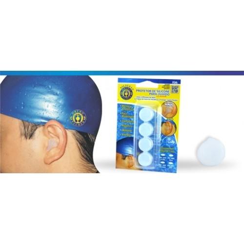 Protetor de Ouvido de Silicone (Incolor) - Ortho Pauher - Cód: OP 4040