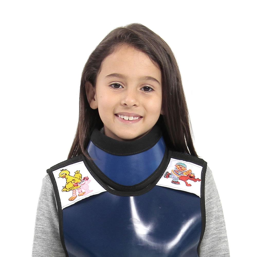 Protetor de Tireoide Infantil 0,35mmPb - PLANIDÉIA - Cod: PRS-008I