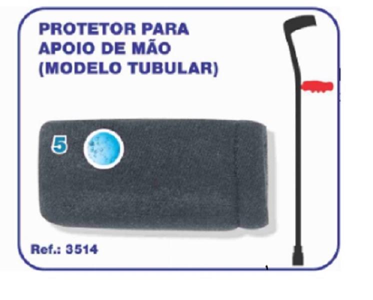 Protetor para Apoio de Mão (Modelo Tubular) - Ortho Pauher - Cód: OP 3514