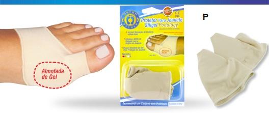 Protetor Para Joanete Siligel Podology (Tam P) - Ortho Pauher - Cód: OP 4055-P