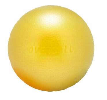 Softgym Over max Ø 25 cm Amarela - GYMNIC- Cód: 95.09Am