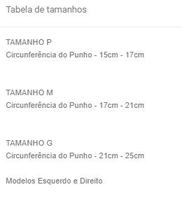 Tala Plástica para Punho (LADO DIREITO) - Salvapé - Cód: 410-4