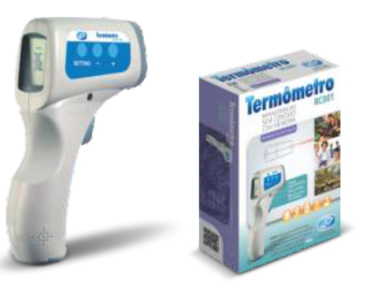 Termômetro RC 001 - Pro - Caixa Com 6 Unidades - NCS - Cód: TI3002